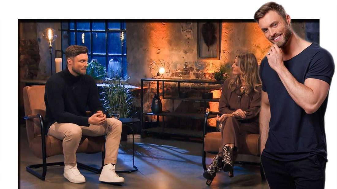 Fotomontage: Bachelor Niko Griesert und Frauke Ludowig beim Großen Wiedersehen
