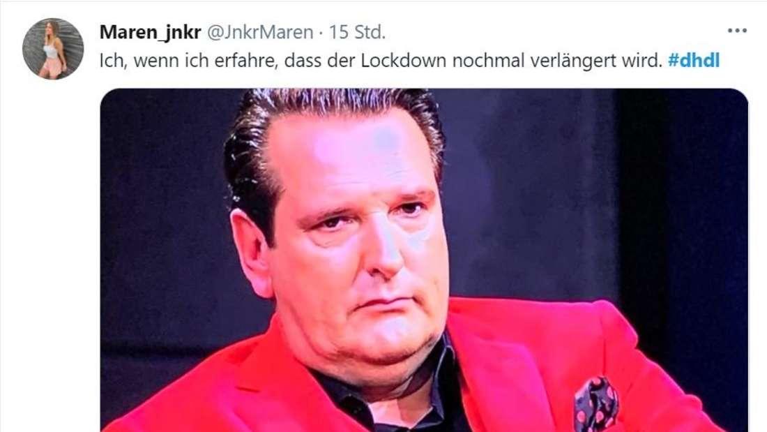 Ralf Dümmel guckt genervt in die Ferne