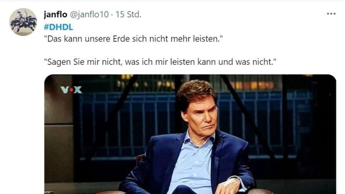 """Carsten Maschmeyer mit ernstem Blick bei """"Die Höhle der Löwen"""""""