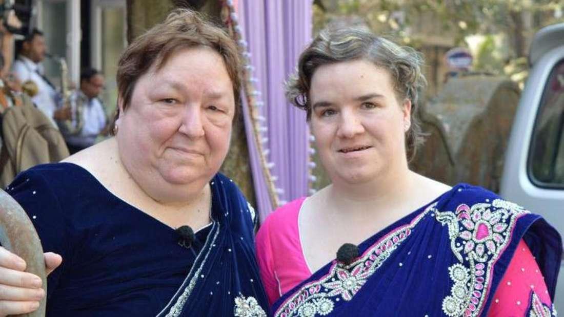 Mutter Irene (links) und Beate (rechts)