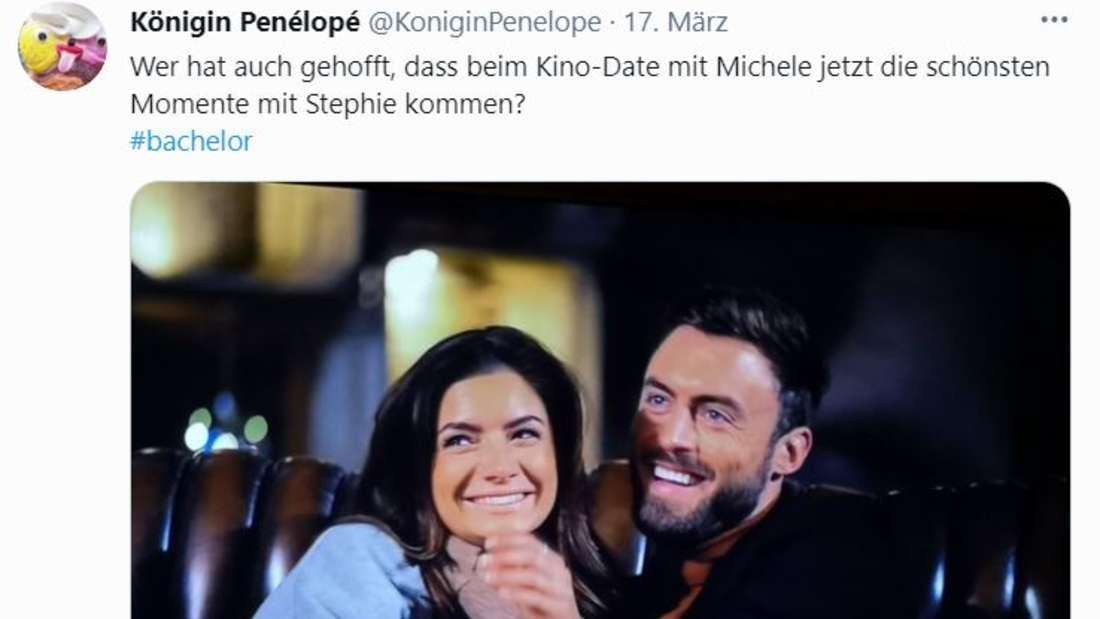Michèle und Niko lachen