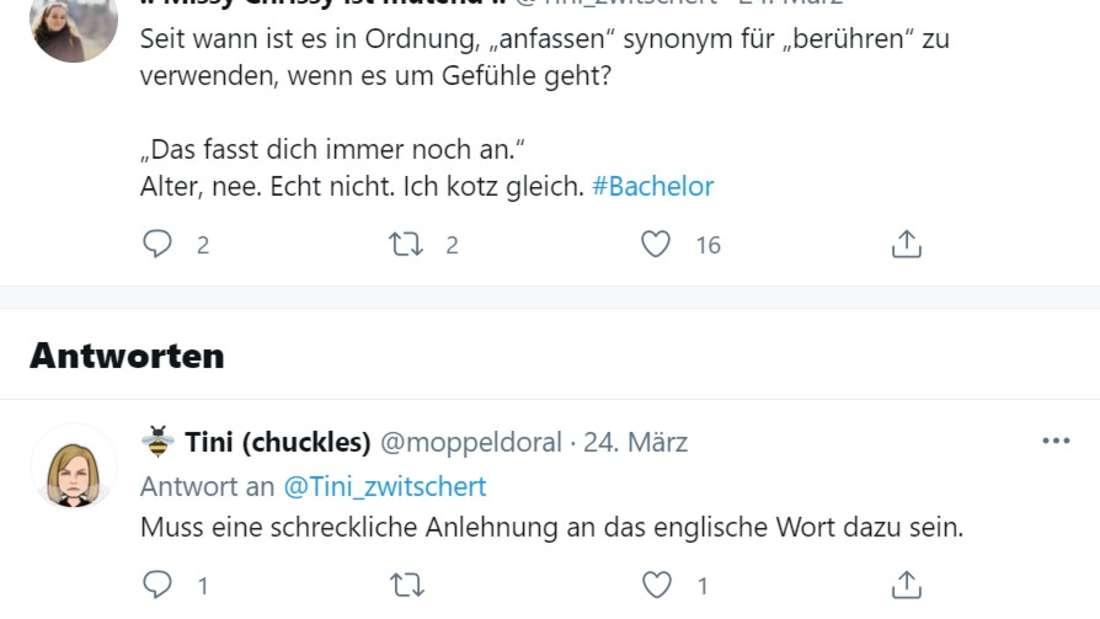 Screenshot von Twitter Post