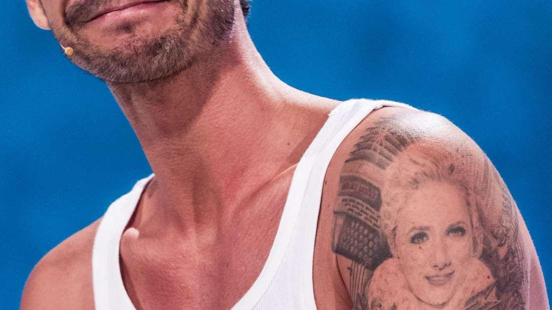 Helene-Fischer-Ex Florian Silbereisen mit Tattoo seiner Verflossenen.
