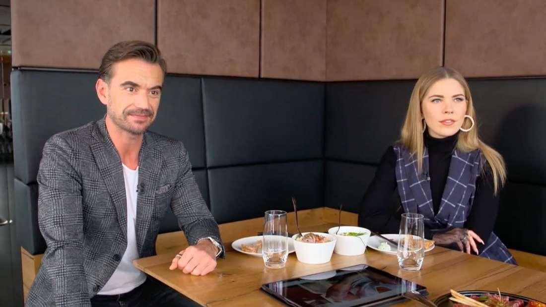 Florian Silbereisen und Victoria Swarovski im Traumschiff-Interview