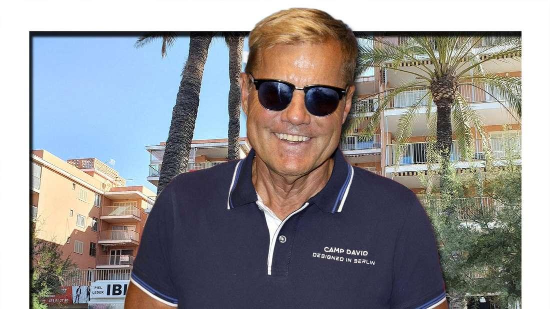 Dieter Bohlen (67) hatte sich kurz vor den DSDS-Liveshows krankgemeldet. Doch ein Bild zeigt den Poptitan beim Telefonieren in der Sonne Mallorcas.