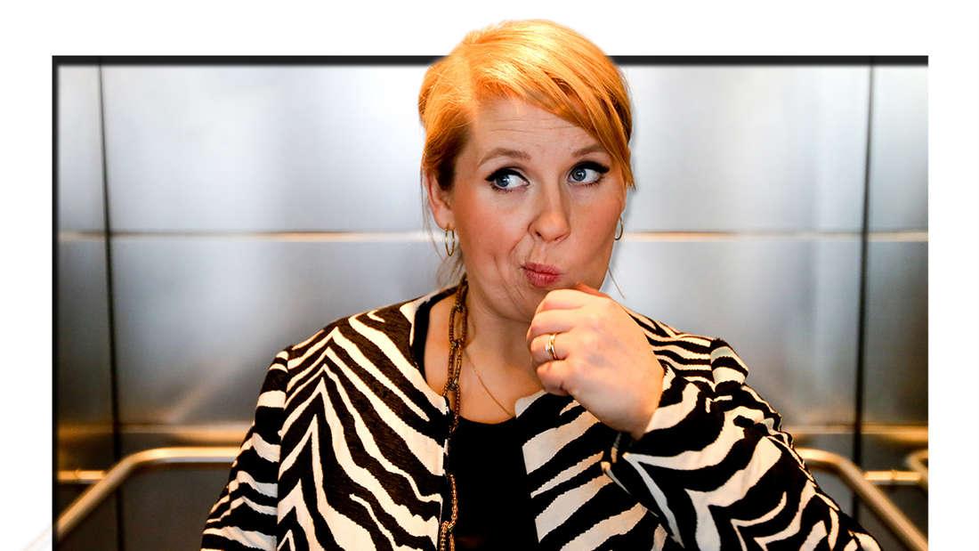 Maite Kelly posiert am 27.03.2013 am Rande eines Interviews bei der Nachrichtenagentur dpa in Berlin für den Fotografen. (Fotomontage)