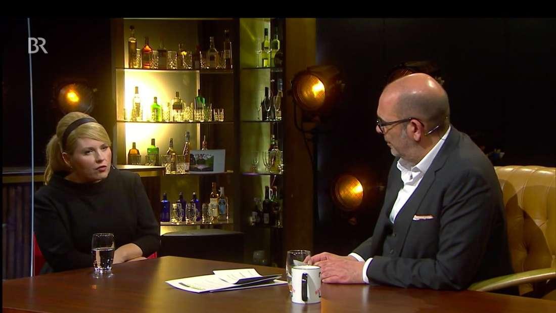 Maite Kelly zu Gast in der Talkshow von Johannes Ringlstetter am 25.03.2021