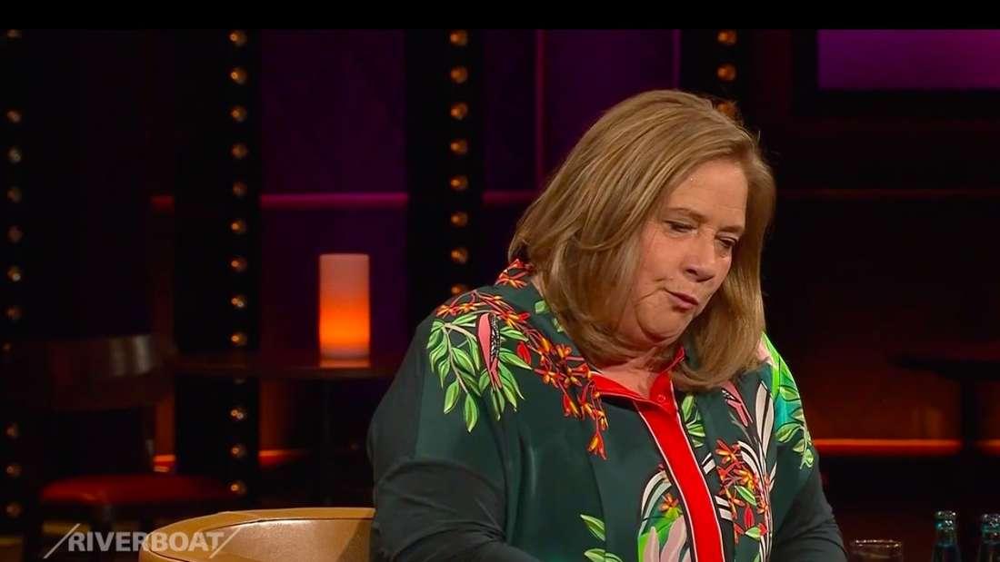 "Kathy Kelly am 26.03 zu Gast in der MDR-Talkshow ""Riverboat"""