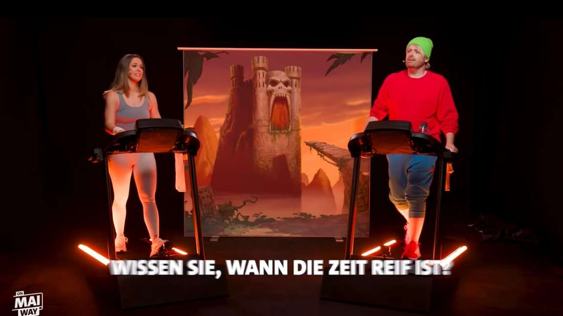 "Ross Antony zu Gast in Vanessa Mais Talkshow ""On Mai Way"" am 1. April 2021."