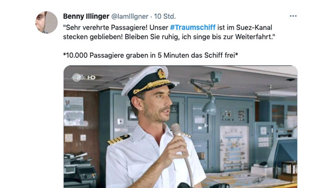 Twitter-Kommentar zur Traumschiff-Folge am Ostersonntag und Florian Silbereisen