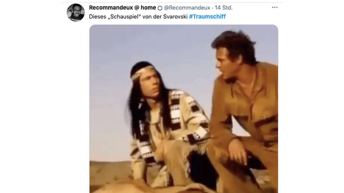 Twitter-Reaktionen auf Victoria Swarovskis Rolle beim ZDF-Traumschiff-bremerhaven