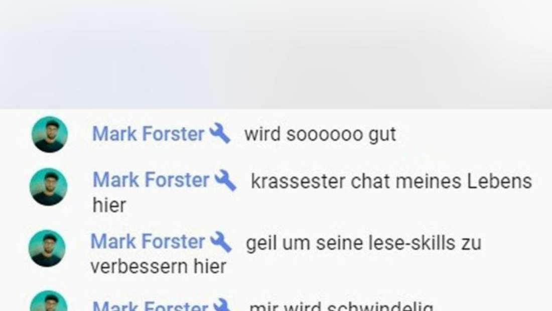 """Der YouTube-Chat zur Videopremiere von """"Mark Forster, LEA - Drei Uhr Nachts (Official Video)"""""""
