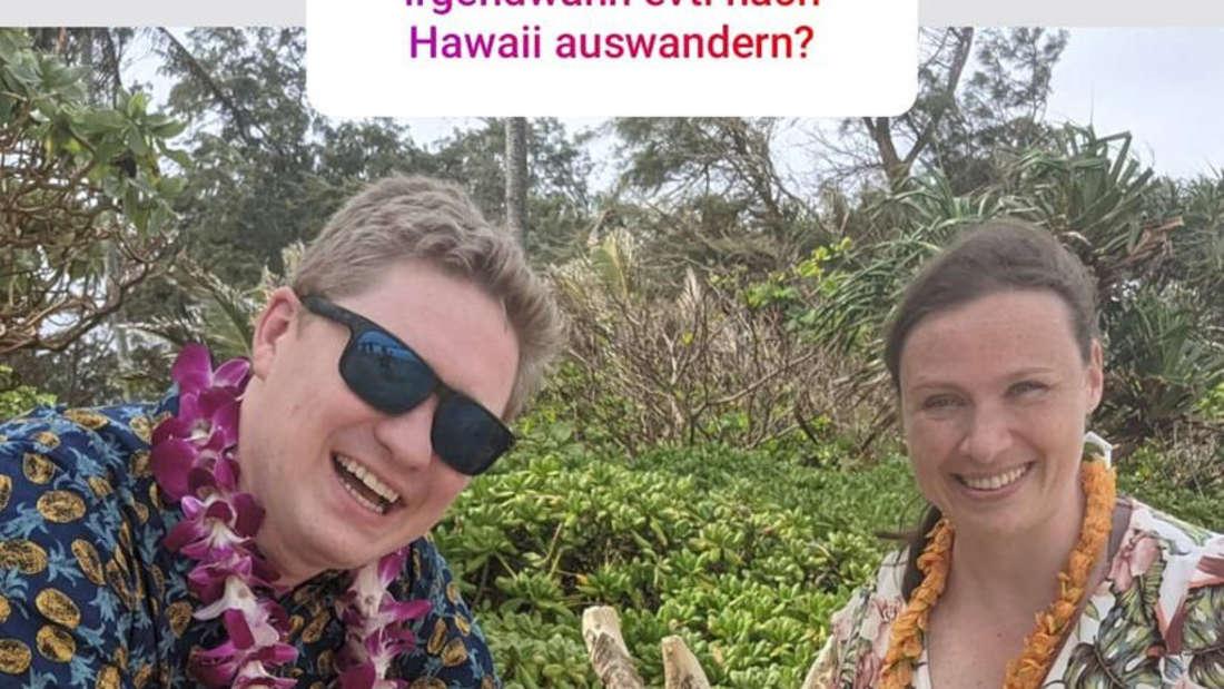 Janina Reimann gibt zu: Nach Hawaii zu ihren Eltern Manu und Konny zu ziehen, ist nicht geplant.