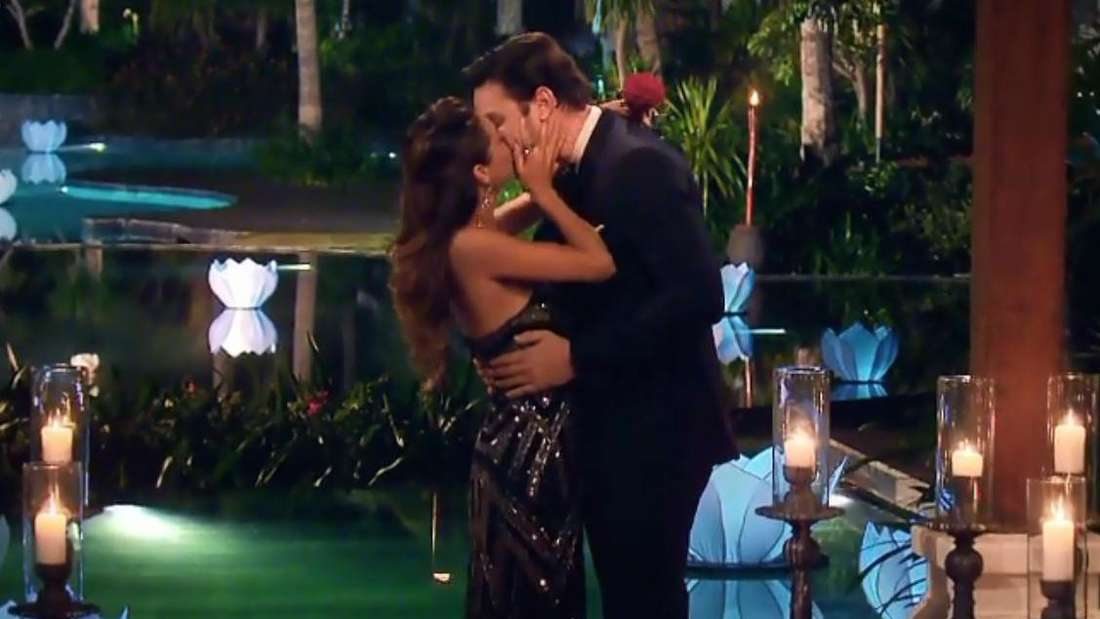Bachelor Daniel Völz hat mit Kandidatin Kristina seine große Liebe gefunden.