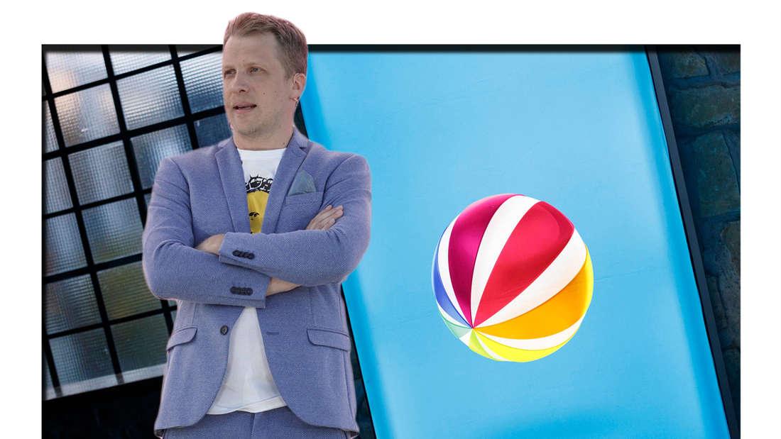 Fotomontage: Oliver Pocher und Sat.1 Logo