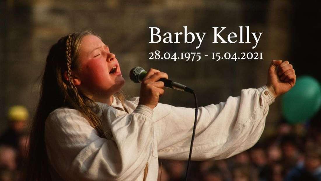 Barby Kelly ist am 15. April im Alter von 45 Jahren gestorben. Die Kelly-Family nimmt Abschied von ihrer geliebten Schwester.