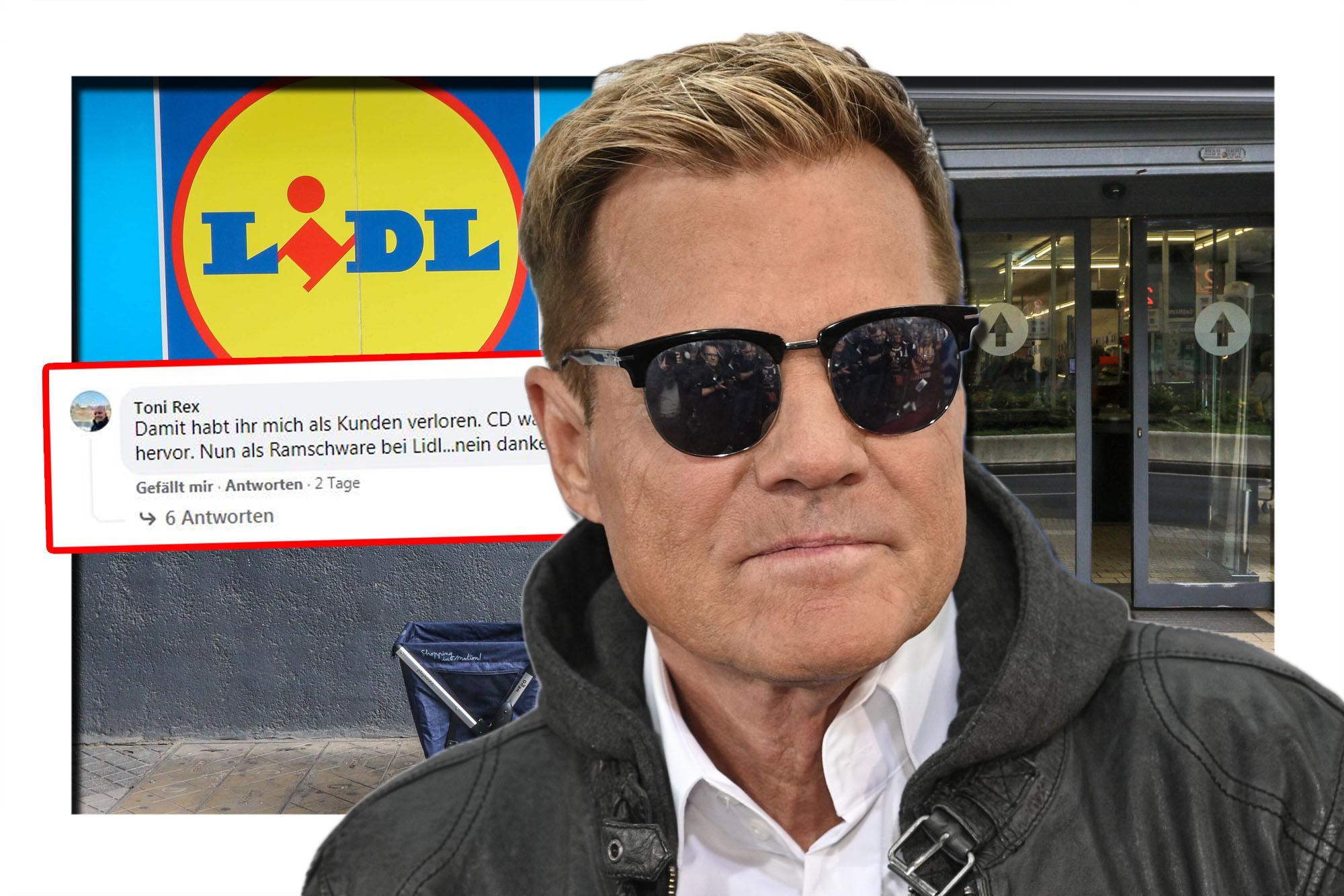 """""""Ich kaufe nie wieder bei Lidl"""": Kunden entsetzt über Verkauf von Bohlen-Kollektion"""