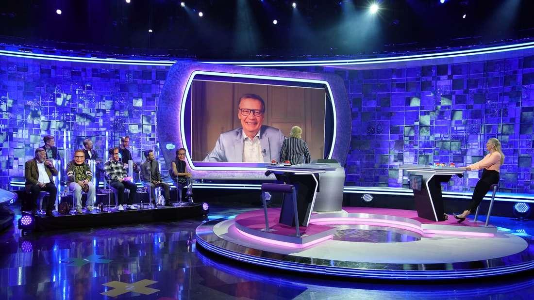 """Moderator Günther Jauch wurde aus der häuslichen Quarantäne in die Sendung """"Denn sie wissen nicht, was passiert!"""" zugeschaltet"""