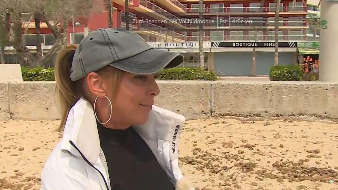 """Marion """"Krümel"""" Pfaff im RTL-Interview über die Drogenszene am Ballermann"""