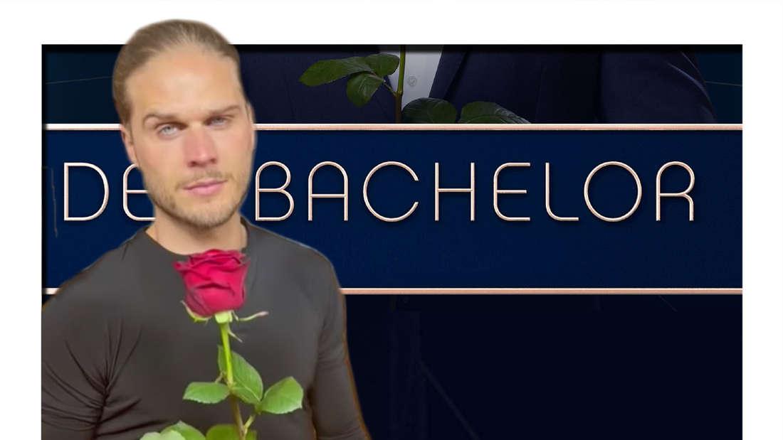 Fotomontage: Rúrik Gíslason vor Bachelor Cover