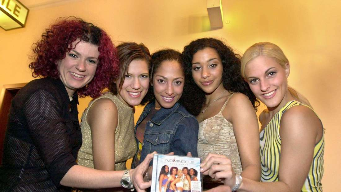 """Die No Angels mit ihrem ersten Album """"Elle'ments"""""""