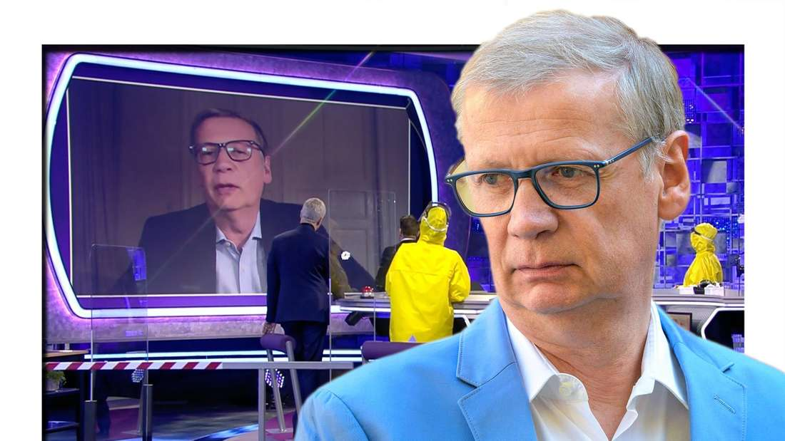 Günther Jauch richtet sich klar an Impfgegner:innen. (Fotomontage)