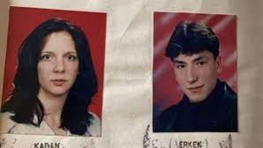 Früheres Passbild von Danni und ihrem Ex-Mann