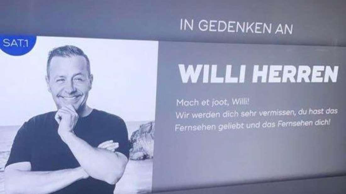 Gedenktafel Willi Herren