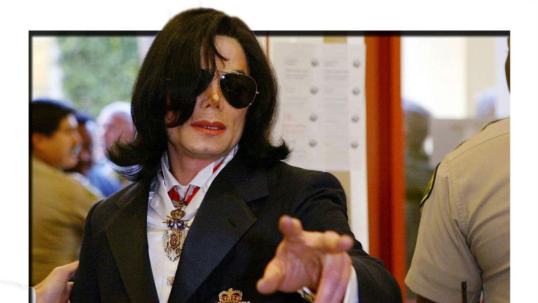 Michael Jackson am 16.01.2004 im Gericht von Santa Barbara