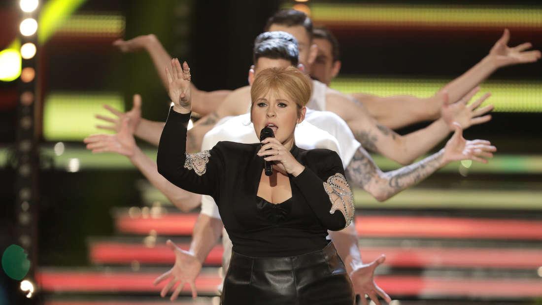 "Maite Kelly singt in der TV-Show ""Willkommen bei Carmen Nebel"""