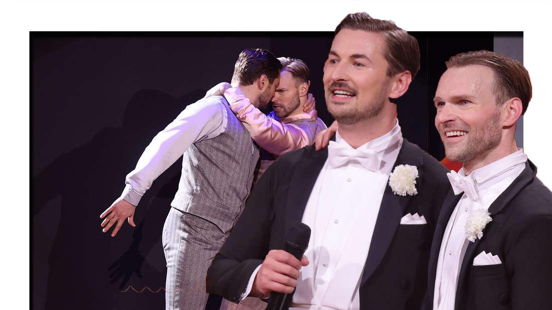 Nicolas Puschmann mit Partner bei Let's Dance (Fotomontage)