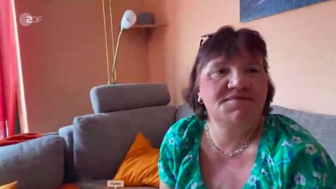 ZDF-Fernsehgarte-Zuschauerin Andrea wird von ihrer Tochter zum Muttertag mit einem Anruf von Giovanni Zarrella überrascht.