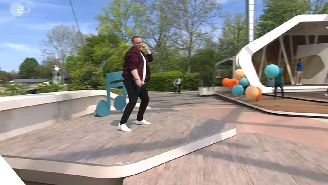 Jan Marten enttäuscht mit Performance im Fernsehgarten