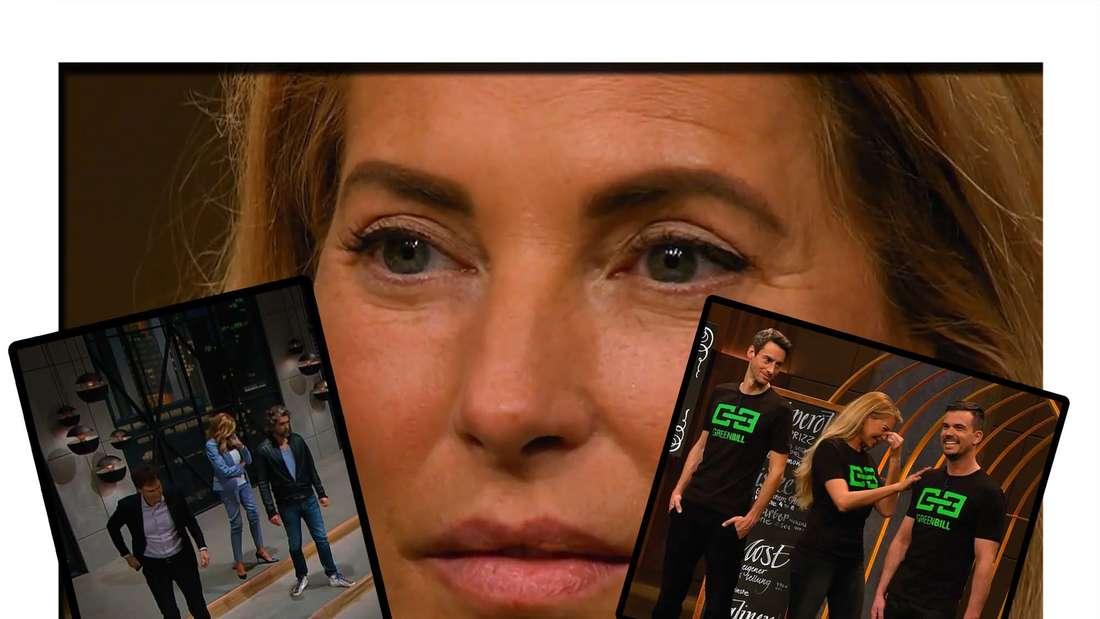 Fotomontage: Giulia Siegel und ihre Mitgründer bei DHDL