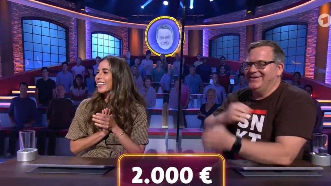 """Sarah Lombardi und Elton bei """"Wer weiß denn sowas?"""""""