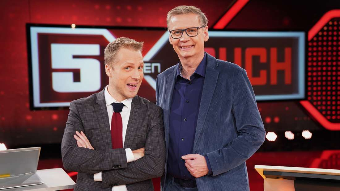 Oliver Pocher und Günther Jauch
