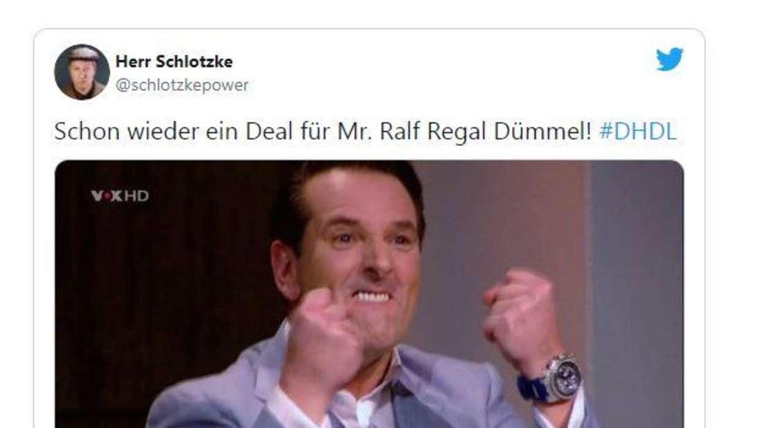 So sieht Ralf Dümmel aus, wenn er keinen Deal bekommen hat.