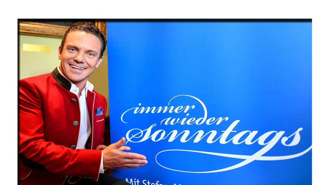 "Stefan Mross, Moderator von ""Immer wieder sonntags"""