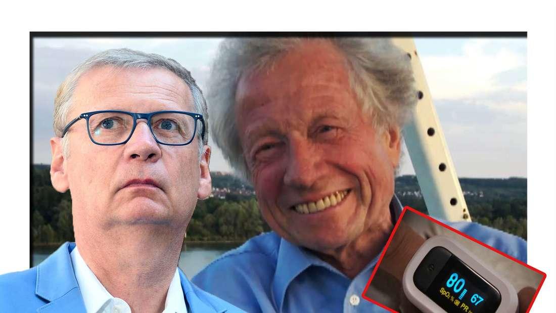 Fotomontage: Günther Jauch und Jürgen Krüger