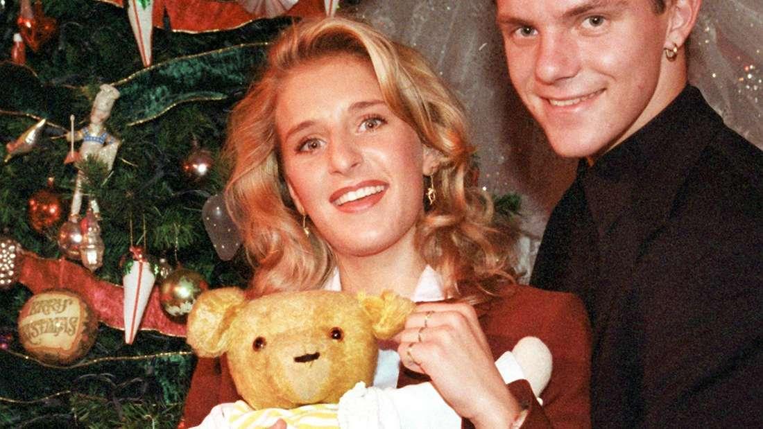 Stefani Hertel und Stefan Mross unterm Weihnachtsbaum