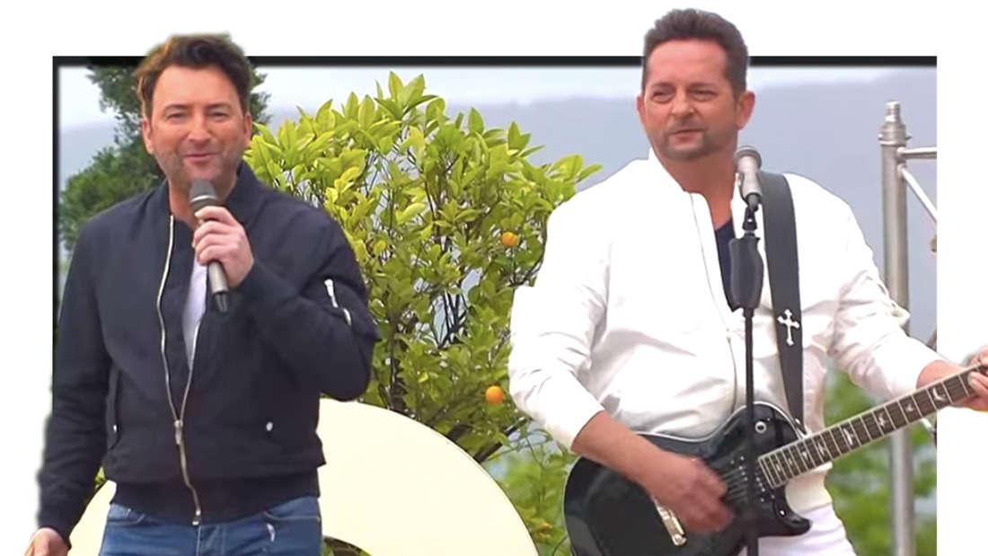 Fantasy (Freddy März und Martin Hein) am 23. Mai 2021 zu Gast im ZDF-Fernsehgarten