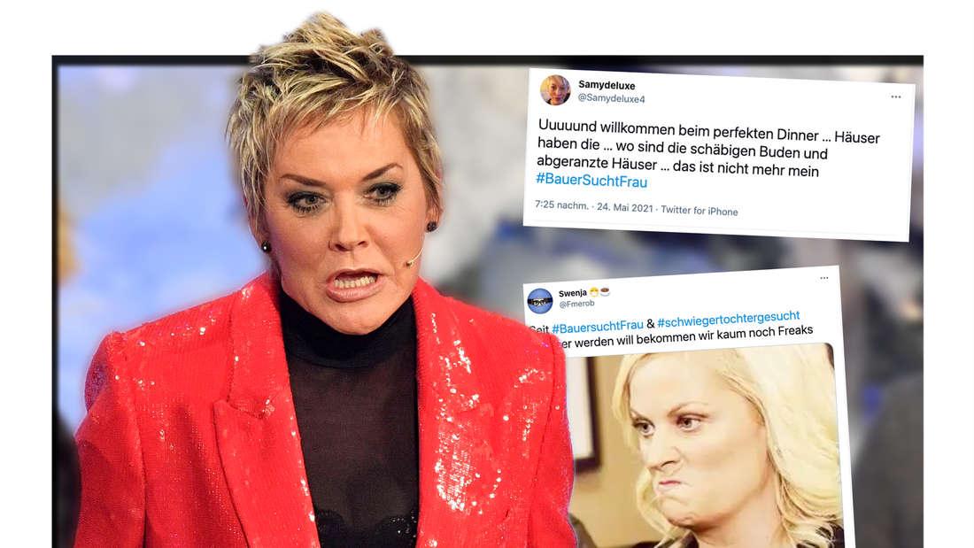 """Einige """"Bauer sucht Frau""""-Fans sind von den neuen Kandidaten schwer enttäuscht. (Fotomontage)"""