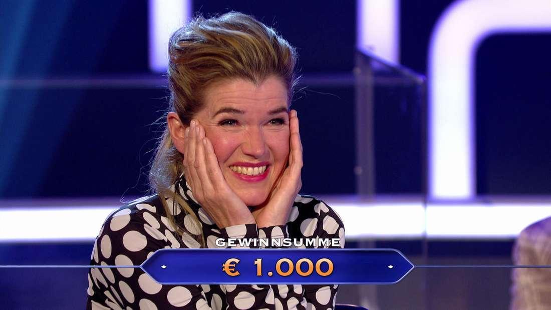 Anke Engelke bei Wer wird Millionär