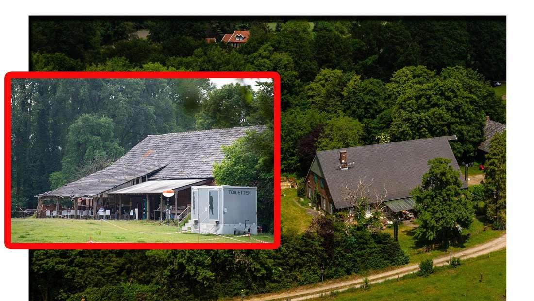 Das Sommerhaus der Stars: Ein Bauernhof in Bocholt, auf denen die Stars auch 2021 leben werden (Fotomontage)