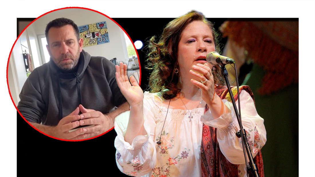 Kathy Kelly singt am 30.11.2011 im Hamburger Congress Centrum. Daneben: Ikke Hüftgold verrät, warum er einen Sat.1-Dreh abgebrochen hat.