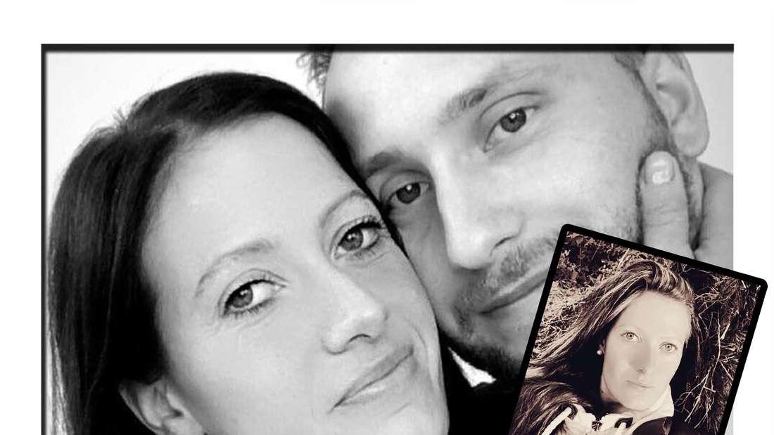 Fotomontage: Denise Munding und ihr Verlobter Nils