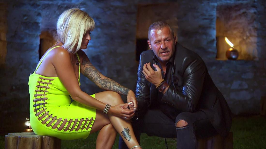 """Jasmin und Willi Herren bei """"Temptation Island"""" (RTL)"""