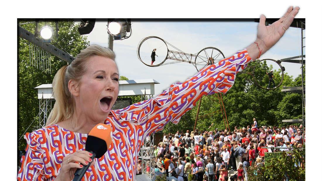 ZDF lässt wieder Zuschauer in den Fernsehgarten - Tickets ausverkauft (Fotomontage)