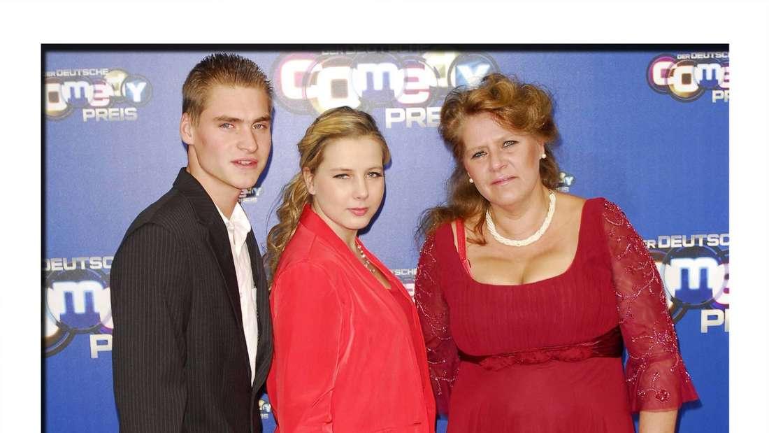 Silvia, Sarafina und Peter Wollny