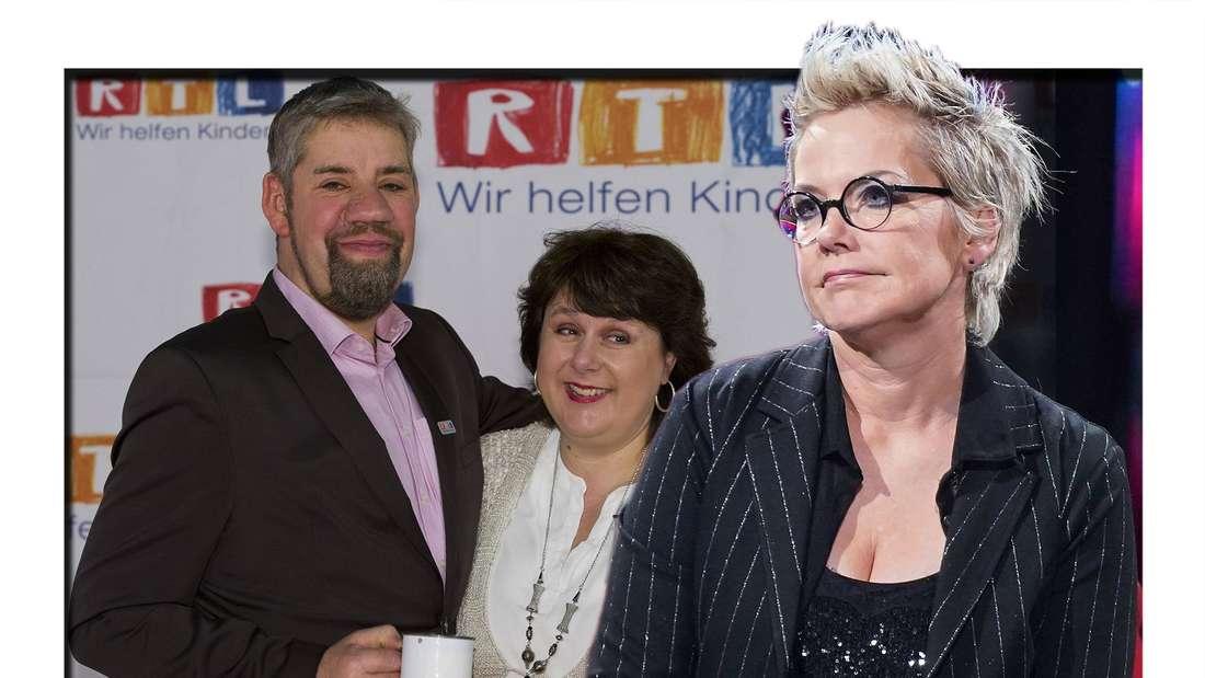 """Uwe und Iris Abel erzählen, was sie an """"Bauer sucht Frau"""" mit Inka Bause """"richtig genervt"""" hat. (Fotomontage)"""